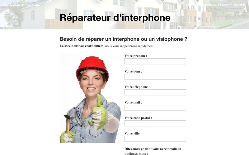 Faire appel à un professionnel pour réparer un interphone